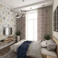 спальня в хрущевке интерьер дизайн
