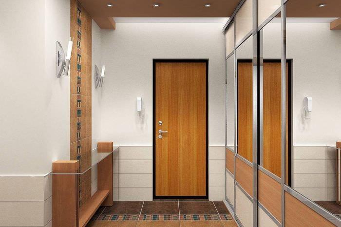 Как сделать прихожую в маленьком коридоре 238