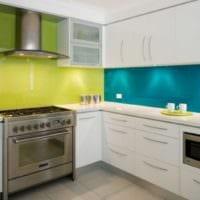 белый кухонный гарнитур современный