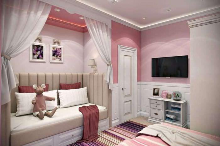 детская в спальне родителей