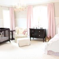 детская в спальной комнате дизайн интерьера