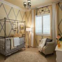 детская в спальной комнате фото дизайна