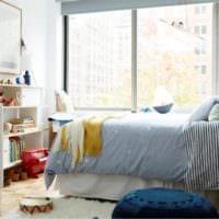 детская в спальной комнате фото спальни