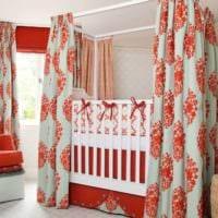 детская в спальной комнате идеи дизайна