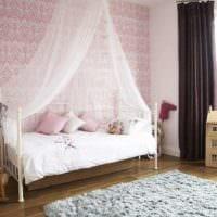 детская в спальной комнате идеи интерьера