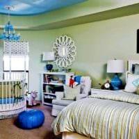 детская в спальной комнате оформление фото