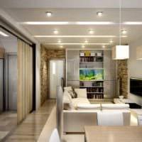 дизайн двухкомнатной квартиры идеи