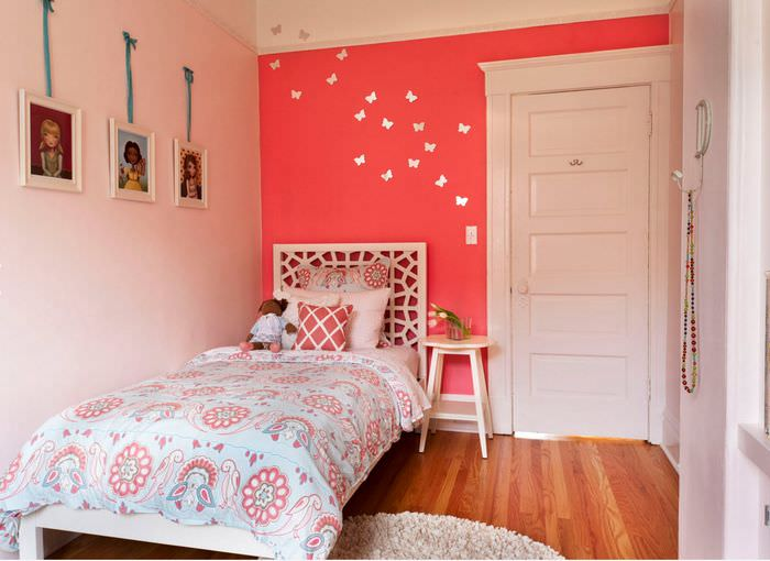дизайн прямоугольной детской комнаты