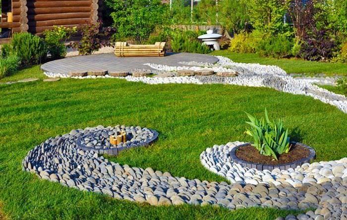 идеи дизайна садового участка