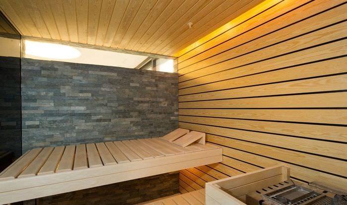 дизайн сауны в своем доме