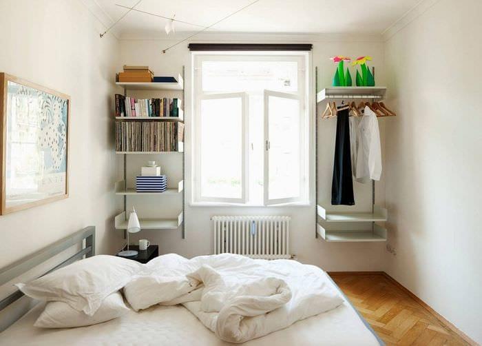 дизайн современной спальни 9 кв м