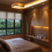дизайн спальни 10 кв метров варианты