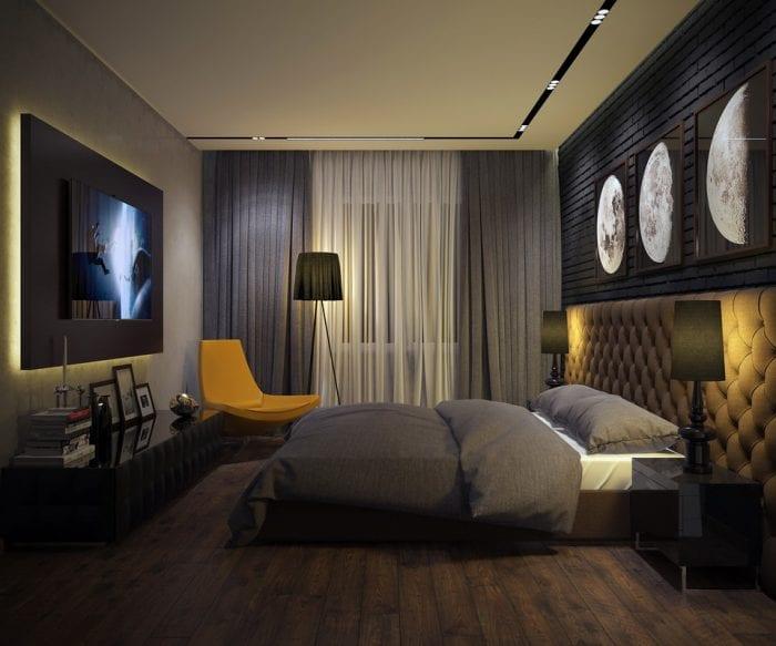 фото спальни 11 кв м