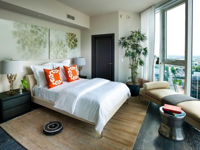 идеи дизайна спальни 11 кв м
