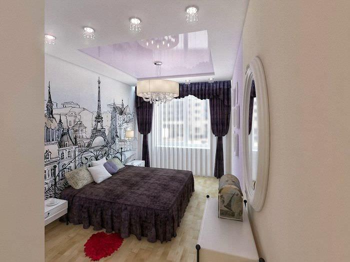 освещение в спальне 11 кв м