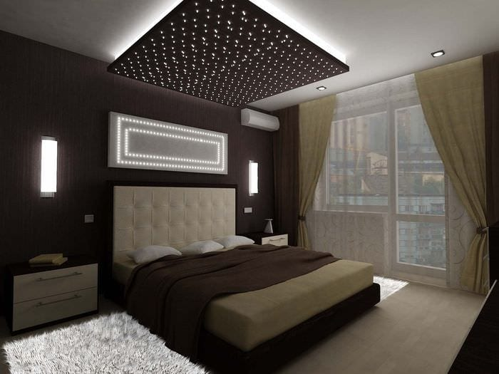 идеи дизайна спальни 14 кв м