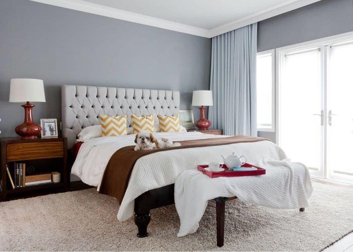дизайн спальни 9 кв м для девушки