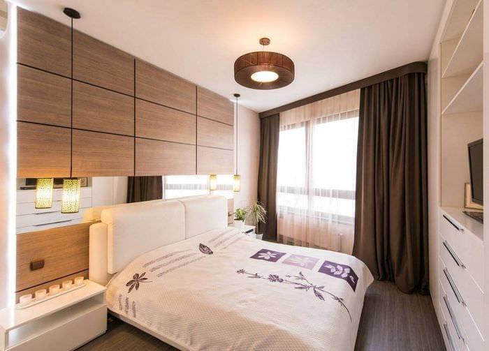 фото спальни 9 кв м