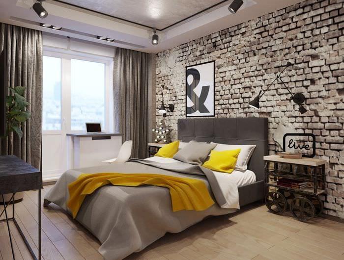 дизайн спальни для парня