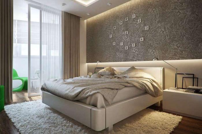 идеи для спальни с балконом