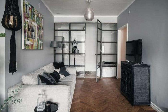 спальня с диваном
