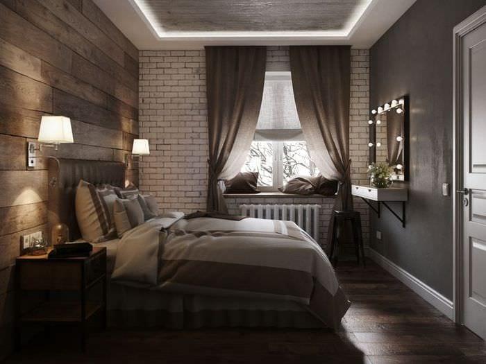 декор спальни в хрущевке