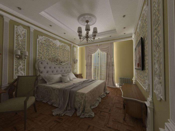 спальня в сталинке 50 кв м
