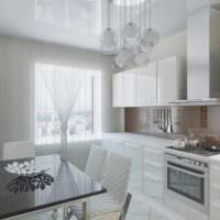 дизайн светлой кухни варианты фото