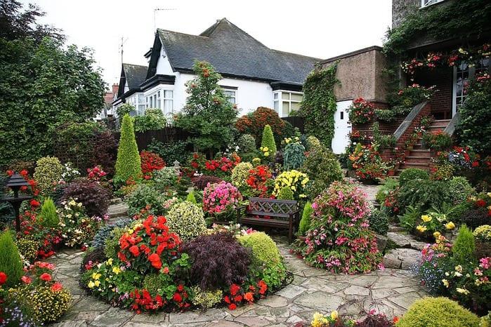 создаем дизайн садового участка