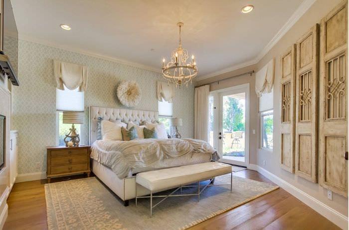 классический дизайн спальни 16 кв м
