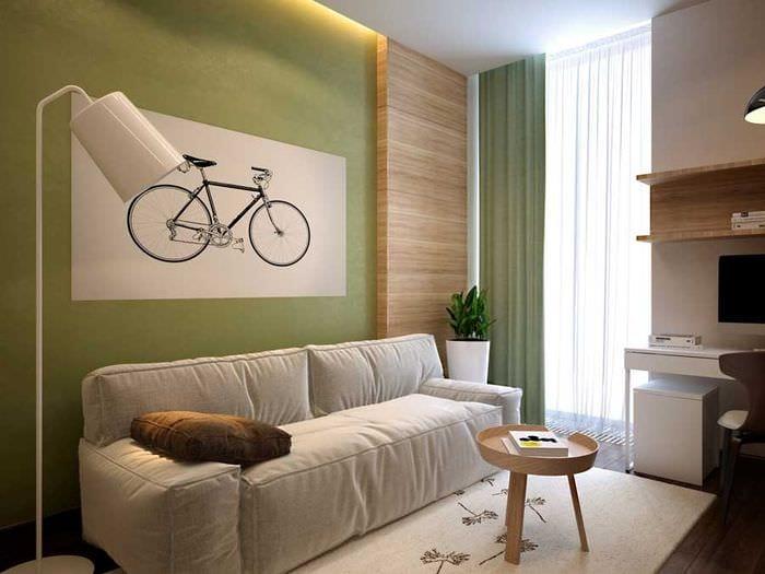комната 10 кв м с диваном
