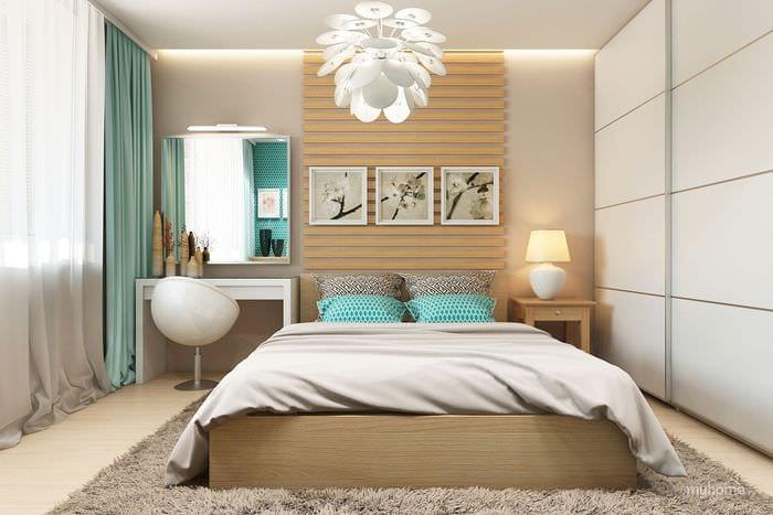модный дизайн спальни 2018