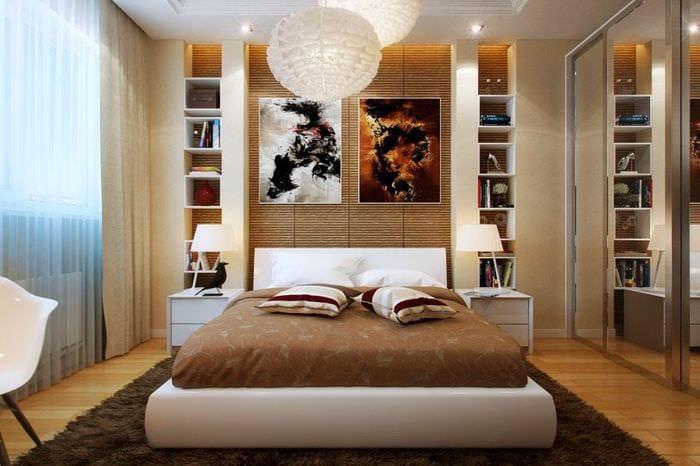 спальная комната 16 кв м