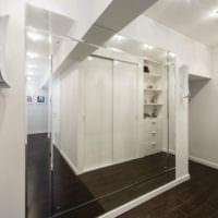 прихожая в квартире в панельном доме идеи дизайна