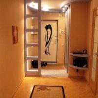 прихожая в квартире в панельном доме интерьер фото