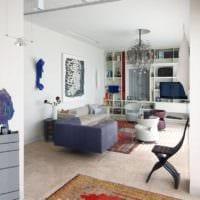 прямоугольная комната декор идеи