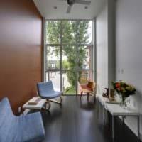 прямоугольная комната фото интерьер