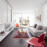 прямоугольная комната идеи интерьер