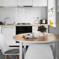 прямоугольная кухня варианты