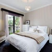 прямоугольная спальня 16 кв м фото декор