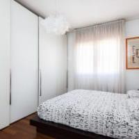 прямоугольная спальня 16 кв м фото интерьер
