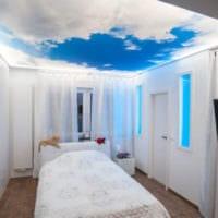 прямоугольная спальня 16 кв м фото оформления