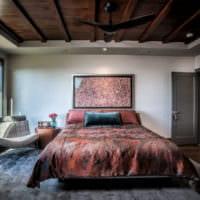прямоугольная спальня 16 кв м идеи