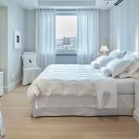 прямоугольная спальня 16 кв м интерьер