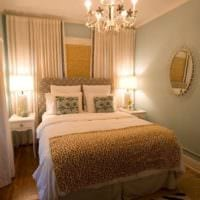 прямоугольная спальня 16 кв м с маленькими зеркалами