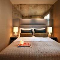 прямоугольная спальня 16 кв м узкая