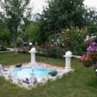 садовый участок 4 сотки миниводоём