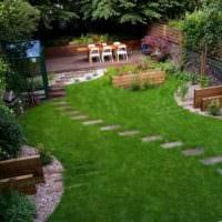 садовый участок 4 сотки тонкости ландшафтного дизайна