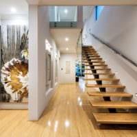 современная конструкция лестницы