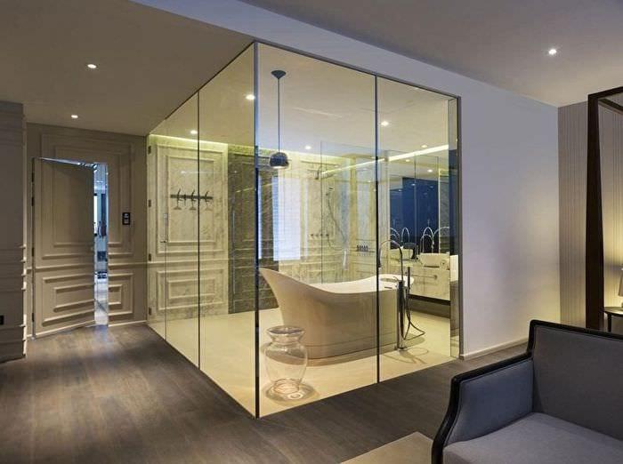 расположение ванной в квартире